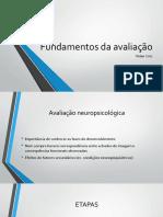 Fundamentos Da Avaliação Neuropsicológica