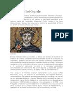 Justiniano I El Grande