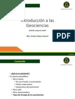 1. Presentacion II Sistema Petrolifero y Energia Yacimientos