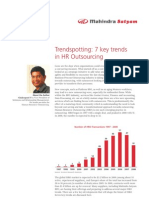 Seven Key Trends in HR Outsourcing