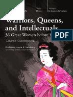 warriors, women, intellectuals