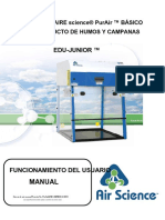 Air Science Balances Enclosures and Powder Weighing Cabinets P5 Manual.en.Es