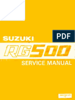 Suzuki RG500-Service Manual