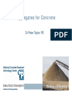 AGGREGATES IN CONCRETE