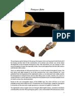 Portuguese Guitar and Fado
