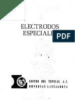 electrodos especiales lanzagorta