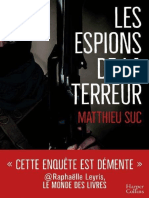 Les Espions de La Terreur - Suc, Matthieu