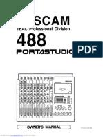 TASCAM 488 Portastudio Manual