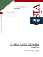 O PROBLEMA DA ESTÉTICA EM ARTHUR DANTO E A QUESTÃO DA CRÍTICA EM WALTER BENJAMIM.pdf