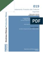 019 Tratamento Primario Das Fraturas Expostas 07082014