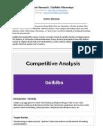 Market Research - Microstays Goibibo