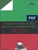 Dintel Felipe - Como Escribir Textos Profesionales