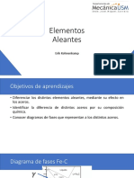 Clase 7 Elementos Aleantes