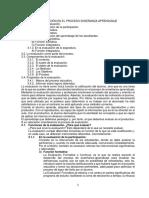 Módulo. Evaluación Del Proceso Enseñanza Aprendizaje. Unidades 3 y 4. 2019. (1)