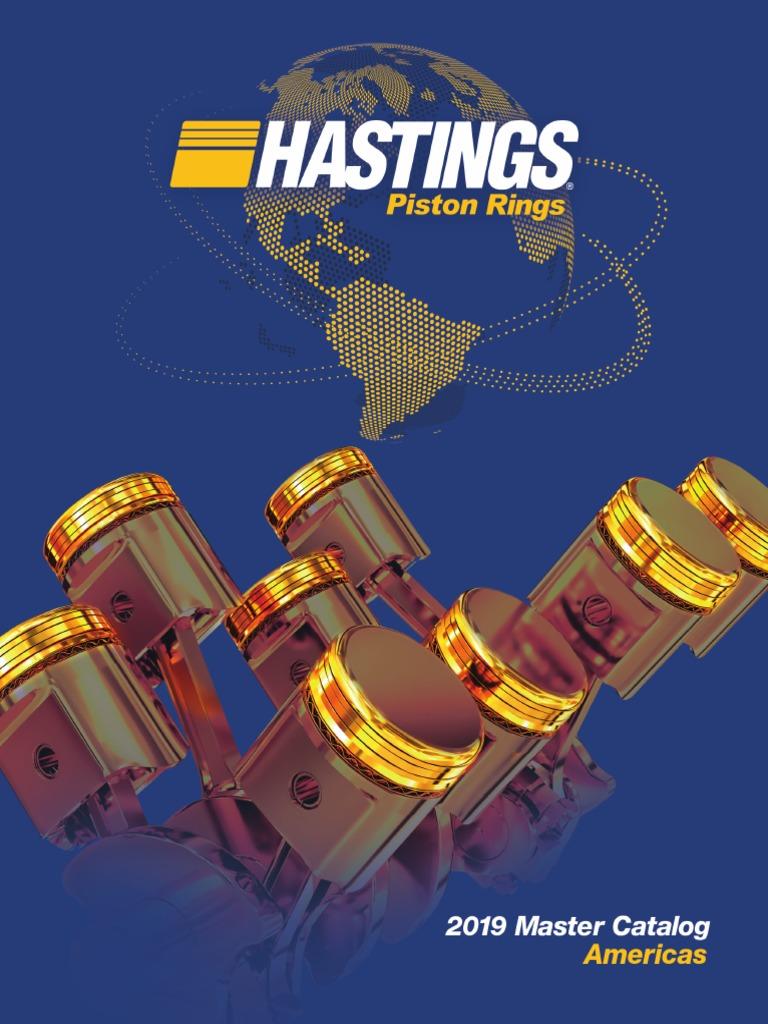 HASTINGS BUICK 455 V8 MOLY PISTON RINGS 1970-1976
