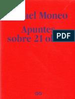 Rafael Moneo. Apuntes Sobre 21 Obras Edi