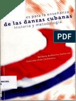 Apuntes Para La Enseñanza de La Danza Cubana