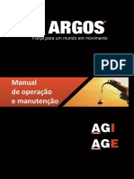 Manual de Operação de Manutenção Munck Argos Linha AGI AGE