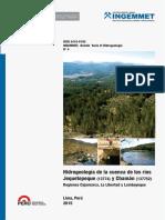 H-004-Boletin-Hidrogeologia Cuenca Rios Jequetepeque y Chaman