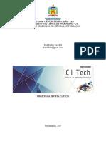 Projeto Da Revista Ci Tech