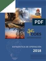 Estadística de Operaciones 2018