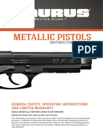 Metallic Pistols Spreads READER