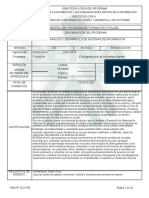 Estructura Curricular ADSI 228106