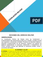 Legislación militar bolivia