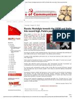In Defense of Communism_ Russia_ Nostalgia Towards the USSR