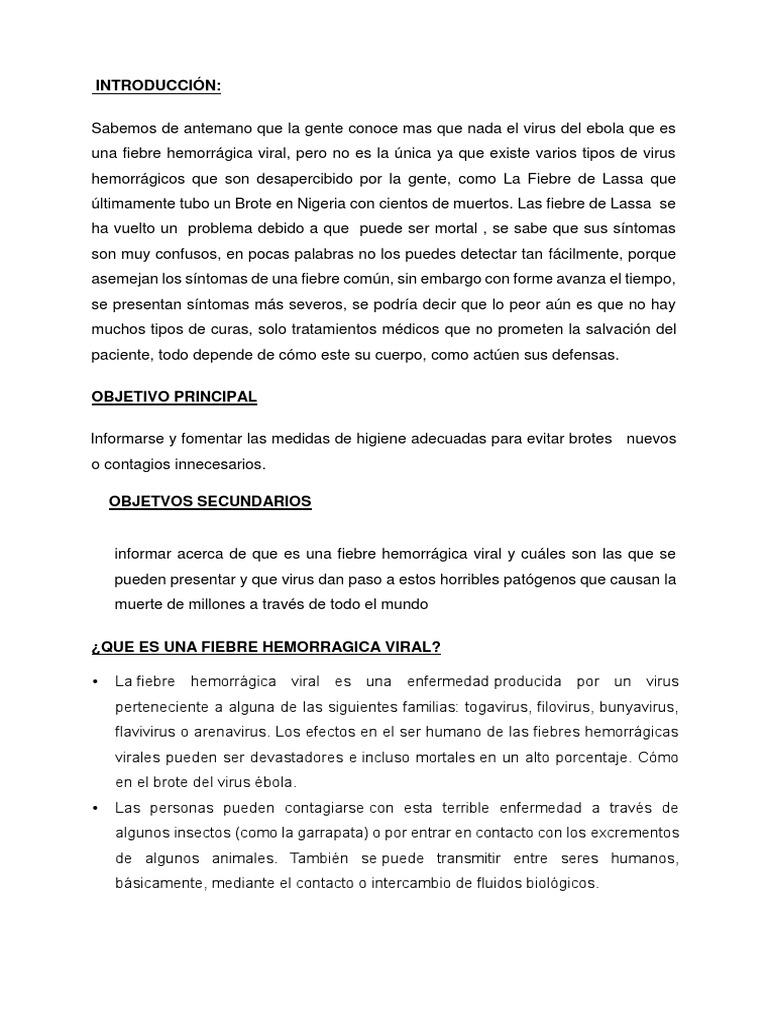 Fiebre de Lassa epidemiología de la hipertensión