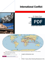07International Conflict