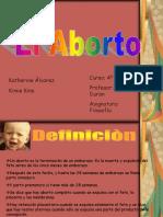 El Aborto Real