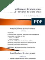 Projeto de Amplificadores de Micro-Ondas - PSI3581 - 2018 - V2