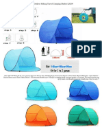 Popup Beach Tent Portable3