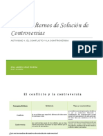 Actividad 1 El Conflicto y La Controversia