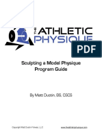 Sculpting a Model Physique Guide