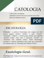 Aula de Escatologia