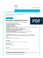 Gmail - PRC Region XI Appointment System