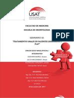 Seminario 02, Cirugia en Pacientes Sindromicos y Flap