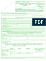 2019 SASE Application Form