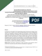 Artículo sobre dirección de comunicación