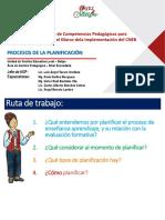 Ppt 4 Procesos de la Planificación curricular Rode 2019