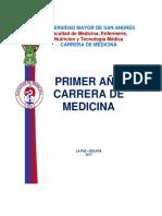 1er Año Medicina Indice 2017