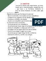 Ficha Informativa La Amistad