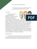 2019-2020 homework policy and discipline plan delaney