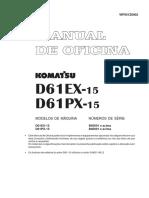 D61EX-15 D61PX-15 Série B40001 e Acima