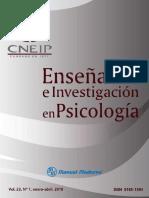 Enseñanza e Investigación en Psicología Vol. 23 Num. 1 - Consejo Nacional para la Enseñanza e Investigación en Psicología.pdf