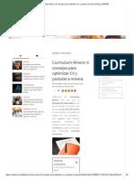 Curriculum Minero_ 6 Consejos Para Optimizar CV y Postular a Minera _ Blog CAMIPER