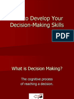 How to Develop Your Decision-Making Skills.ppt