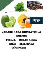 Jarabe Para Combatir La Anemia